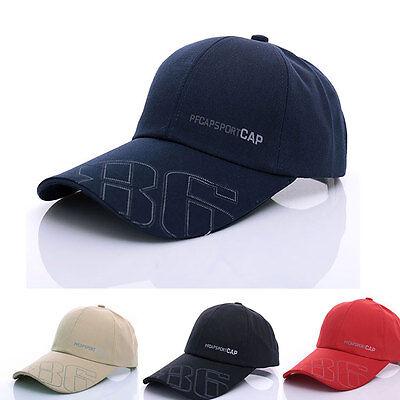 2015  Mens Adjustable Baseball Cap Blank Plain Sports Visor Sun Golf ball Hat
