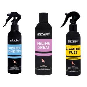 Animology-Cat-Grooming-Shampoo-No-Rinse-Spray-Scent-Feline-Great-Glamour-Puss