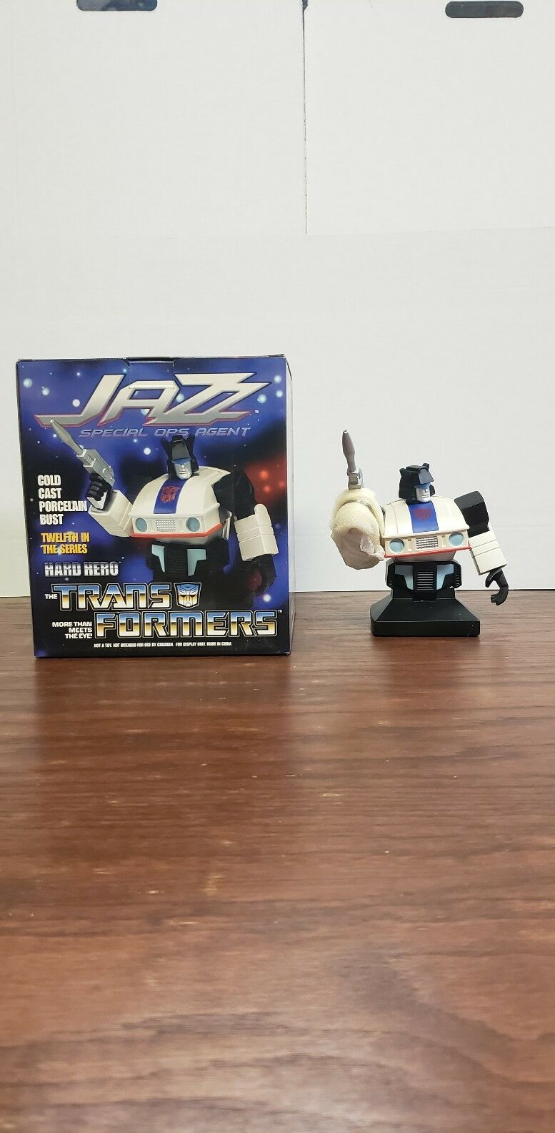 Jazz Transformers Porcelain Bust by Hard Hero