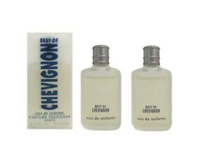 BEST-OF-CHEVIGNON-2-x-4-5-ml-Eau-de-Toilette-Miniature-for-Men-By-Chevignon