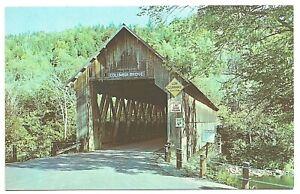 Columbia Covered Bridge Lemington, VT 1950s by Lusterchrome & Rudy's Wholesale