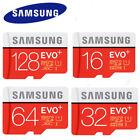 SAMSUNG 16GB 64GB 32GB Micro SD SDHC SDXC EVO+ 80MB/s UHS-I Class 10 TF Card
