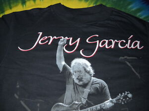 JERRY-GARCIA-BAND-JGB-LIVE-1988-CONCERT-PHOTO-TIGER-GUITAR-T-SHIRT-MEDIUM-NEW