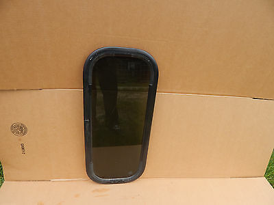 """17/""""X32/"""" Details about  /RV // Trailer Window Tinted #761 No Trim Rings Fixed Window"""