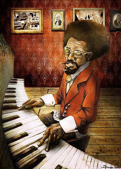 BRESSO BRESSO BRESSO SOLA   The PIANISTA barella-immagine Schermo MUSICA MUSICISTA PIANOFORTE 0543dd