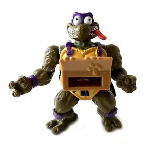 Pizza-Tossin-Don-Vintage-TMNT-Ninja-Turtles-Action-Figure-1993-90s-Donatello
