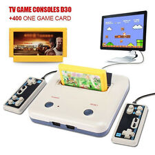 Retro Gaming Family Console Computer + 400 games +2 Handle Control TV Video Game