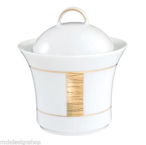 Royal Tettau porcelaine jade Macao 3636 Sucrier /& Couvercle vaisselle