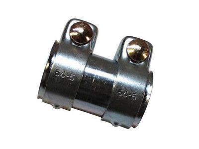Universal Auspuffverbinder Verbinder Schelle Doppelschelle Ø 50-54,5 mm L =125