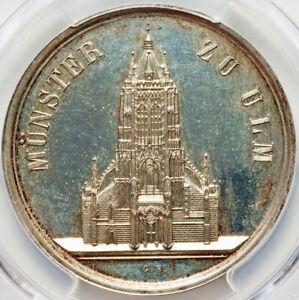 1844-German-States-Baden-Ulm-Minster-Nau-241-Silver-PCGS-SP62
