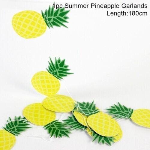 Hawaiian Theme Hanging Party Decoration Tropical Summer Decors Birthday Supplies