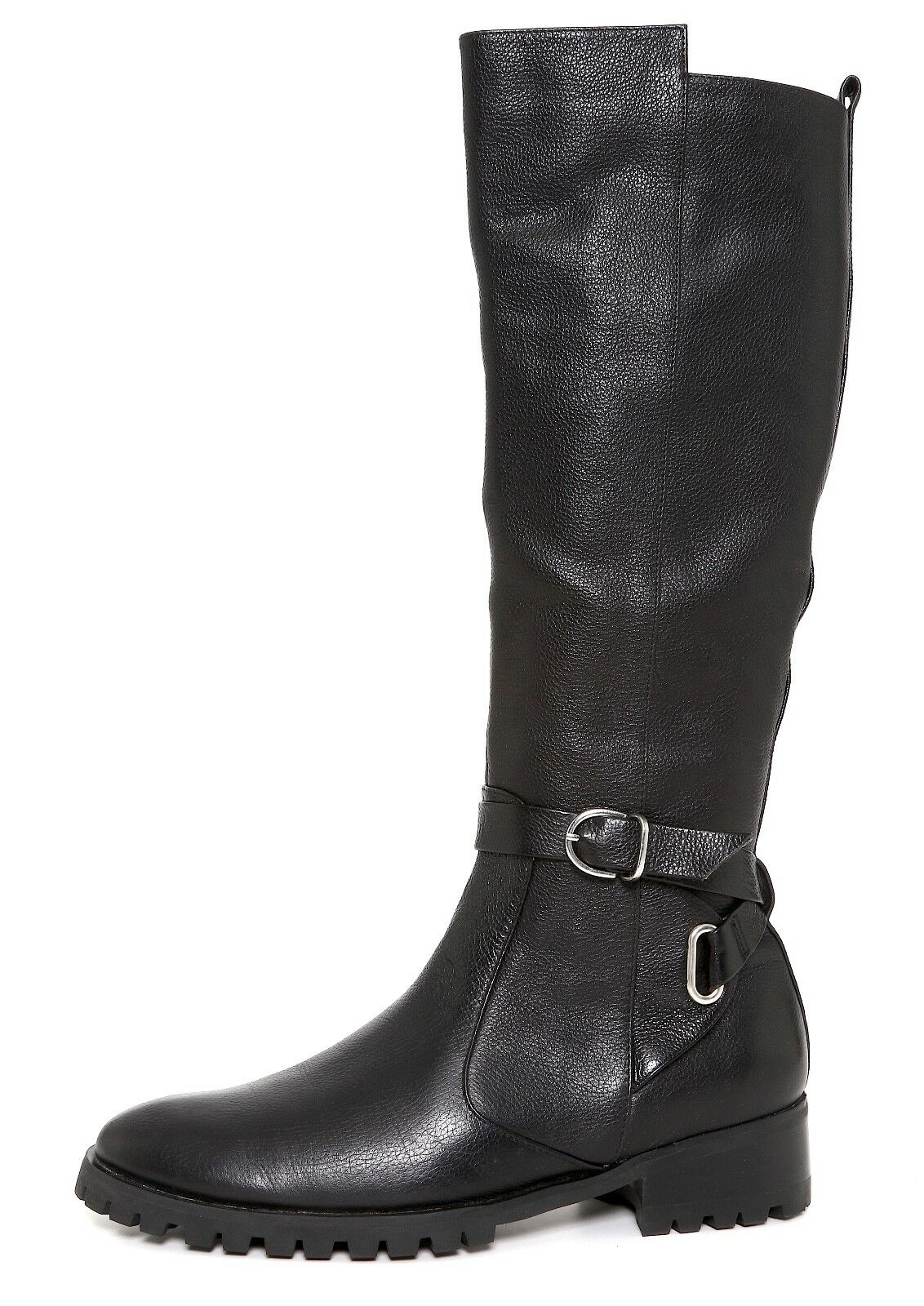 Tesori Valencia Leather Leather Leather Boot Black Women Sz 7.5M 7919 cd3af5