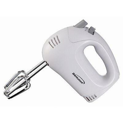 BRAND NEW Brentwood Appliances HM-45 5-Speed Hand Mixer - Wh