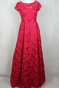 Vera Mont Kleid Maxikleid Spitzenkleid Festlich Rot Damen Gr 36 Neu Lp 299 Ebay