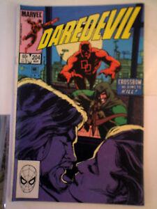 DAREDEVIL-204-FINE-Marvel-comic-O-039-NEIL-Mar-1984-modern-age-SEE-MORE-SAVE-P-amp-P