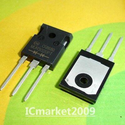 200V Ultrafast Dual Diodes TO-247 10pcs MUR3020PT MUR3020 15A