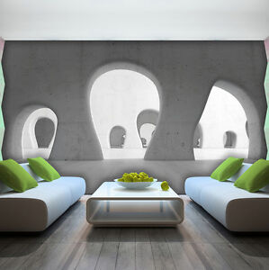 poster bild tapeten fototapete tapete tunnel 3d fenster. Black Bedroom Furniture Sets. Home Design Ideas