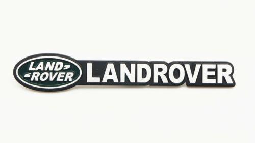 Rear Alloy Emblem Badge Defender Range Rover 4WD Fit LandRover Side