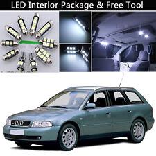 13PCS Canbus LED Interior Lights Package kit Fit 1996-2001 Audi A4 B5 ESTATE J1