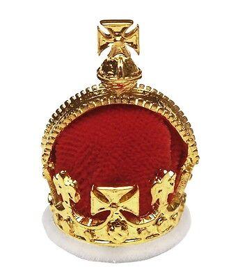 1728 Principe Del Galles Corona -miniture Modello Con Cristalli Swarovski 28019 Colore Veloce