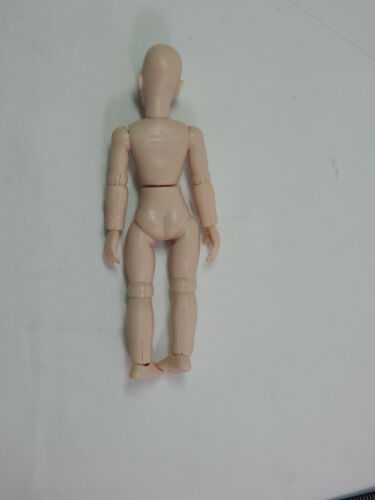 "Heidi Ott  Dollhouse Miniature 1:12 Scale Nude Lady with Brown eyes 6/"" #XKF02"