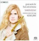 Sharon Bezaly Great Works for Flute and Orchestra 7318599916798 by Jarvi SACD