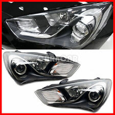 OEM GENUINE GENESIS COUPE PROJECTION HEAD LAMP LIGHT SET CLEAR TYPE 2013-2015.