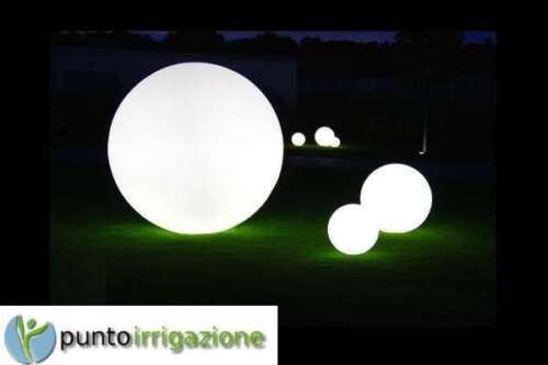 Sfera palla luminosa LED giardino da esterno da 40 cm con lampada da 13W inclusa