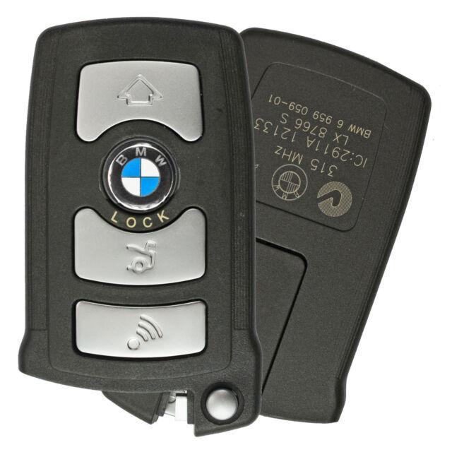 Oem For 2006-2011 BMW 7 Series Remote Smart Prox Key Keyless Fob Battery  Door