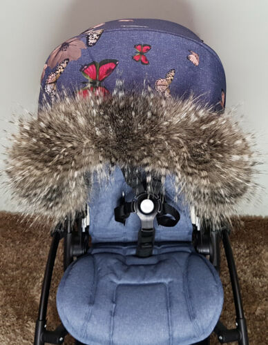 Pram Fur For Pram Hood Trim FAST DELIVERY All models Strollers Pushchairs Prams