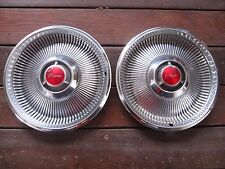 "1968 Chrysler Newport New Yorker 14"" Hubcap, Hub Cap, a pair"