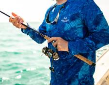 Mint Green UPF 30+ 8//10 Realtree Fishing™ Ladies WAV3 L//S Performance Tee M