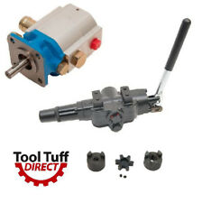 Log Splitter Build Kit: 11 GPM Pump, A7 Valve w/ Detent, LO75 Lovejoy Coupler