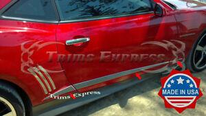 2010-2015-Chevy-Camaro-Body-Side-Insert-Door-Trim-Molding-Accent-Stainless-Steel