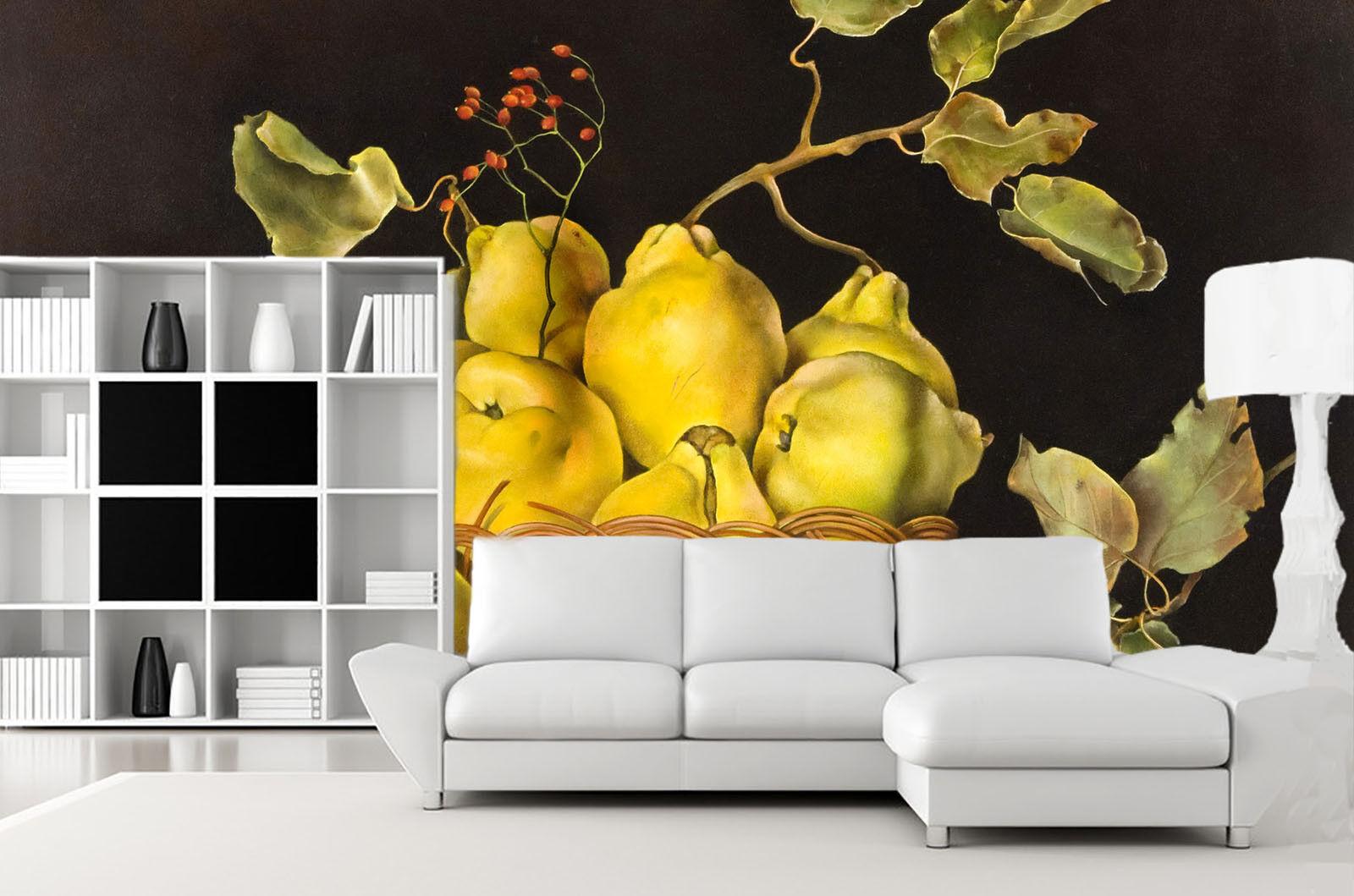 3D Gelbe Birne Korb 74 Tapete Wandgemälde Tapete Tapete Tapete Tapeten Bild Familie DE Summer   Schön    München    Deutschland Shops  1d1c5f