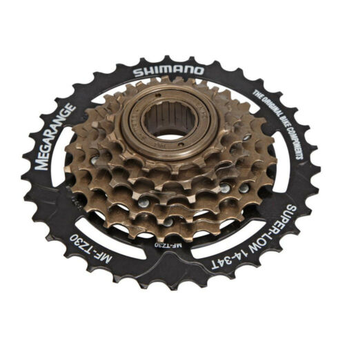 Shimano Tourney MF-TZ30 MTB Mountain Bike 6 Speed Freewheel Screw On 14-34T