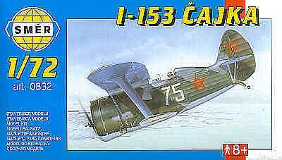 Smer 1/72 Polikarpov I-153 Chaika # 0832