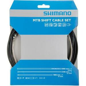 Workshop Made Shimano OT-SP41 MTB Stainless Shift Cable Set Gear Y60098021 WHITE