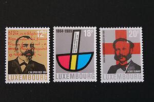 Briefmarken / Briefmarke Luxemburg Yvert und n tellier°1164 à 1166 NSG (cyn10)