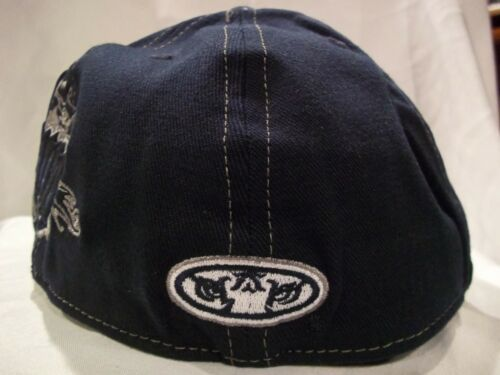 AUBURN UNIVERSITY LICENSED STRETCH ONE FIT HAT CAP IN BLUE NEW NWT H26