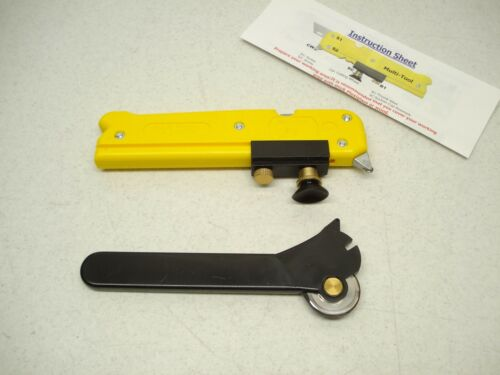 MULTI-TOOL TILE /& GLASS CUTTER WITH ROTARY CUTTER 436445 LOT OF 7