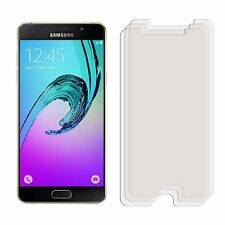 2 x Clear LCD Screen Protector Film Foil Saver For Samsung Galaxy A5 2016