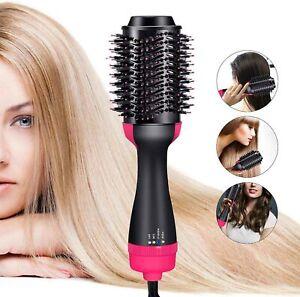One-Step волос фен и шампуней выпрямитель и бигуди расческа горячего воздуха щетка 🔥