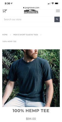Jungmaven 100% Hemp T-Shirt XL