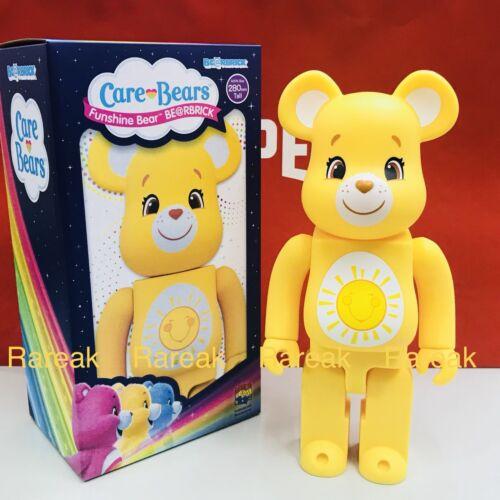 Medicom 2018 Be@rbrick America Greeting 400/% Care Bears Funshine Bear Bearbrick