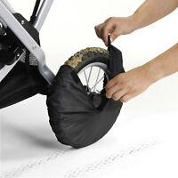 Teutonia Radschutz 4er Set Universal für Kinderwagen Räder bis 12 Zoll #7297
