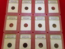 Slabbed Authentic Ancient Roman Coins / c. 330 A.D. Constantine / 1 COIN