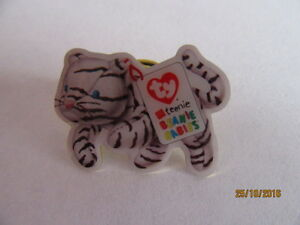 TY TEENIE BEANIE BABY MCDONALDS PIN BADGE  BLIZZARD THE WHITE TIGER - Braintree, Essex, United Kingdom - Returns accepted Most purchases from business sellers are protected by the Consumer Contract Regulations 2013 which give you the right to cancel the purchase within 14 days after the day you receive the item. Find out mo - Braintree, Essex, United Kingdom