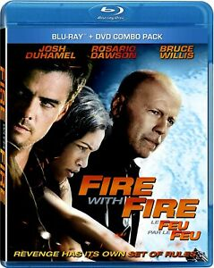 NEW-BLU-RAY-DVD-COMBO-FIRE-with-FIRE-Josh-Duhamel-Bruce-Willis-Rosario-D