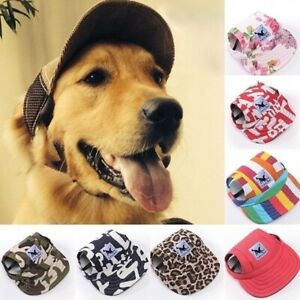Pet-Dog-Baseball-Cap-Sports-Travel-Windproof-Sun-Hats-for-Small-amp-Large-Dog-USA